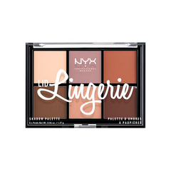 Для глаз NYX Professional Makeup Lid Lingerie Shadow Palette тени nyx professional makeup палетка теней perfect filter shadow palette olive you 03