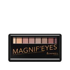 Для глаз Rimmel Magnif'Eyes Palette 002 (Цвет 002 London Nudes Calling variant_hex_name C090A3) jp a calosse nudes