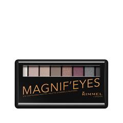 Для глаз Rimmel Magnif'Eyes Palette 003 (Цвет 003 Grunge Glamour variant_hex_name 86757B) для глаз pupa vamp palette 003 цвет 003 absolute nude variant hex name d2a19d вес 10 00