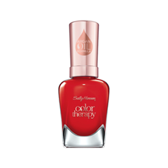 Лак для ногтей Sally Hansen Color Therapy™ 340 (Цвет 340 Red-Iance variant_hex_name E82D24) лак для ногтей sally hansen color therapy™ 200 цвет 200 powder room variant hex name dcc1ba