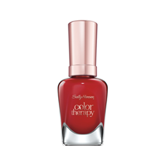 Лак для ногтей Sally Hansen Color Therapy™ 360 (Цвет 360 Red-Y to Glow variant_hex_name AB1F28) лак для ногтей sally hansen color therapy™ 200 цвет 200 powder room variant hex name dcc1ba
