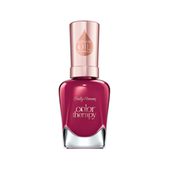 Лак для ногтей Sally Hansen Color Therapy™ 380 (Цвет 380 Ohm My Magenta variant_hex_name 9A204C) лак для ногтей sally hansen color therapy™ 200 цвет 200 powder room variant hex name dcc1ba