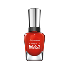 Лак для ногтей Sally Hansen Complete Salon Manicure™ 554 (Цвет 554 New Flame variant_hex_name D42214) sally hansen лак для ногтей complete salon manicure 610 red zin 14 7 мл
