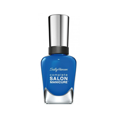 Лак для ногтей Sally Hansen Complete Salon Manicure™ 684 (Цвет 684 New Suede Shoes variant_hex_name 3988E5) sally hansen лак для ногтей complete salon manicure 610 red zin 14 7 мл
