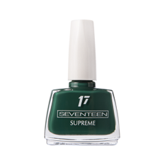 Лак для ногтей Seventeen Supreme Nail Enamel 207 (Цвет 207 variant_hex_name 083A39) лак для ногтей seventeen supreme nail enamel 47 цвет 47 variant hex name b81b12