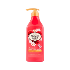 Гель для душа KeraSys Shower Mate Body Wash Romantic Rose & Cherry Blossom (Объем 550 г)