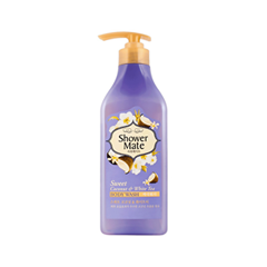 Гель для душа KeraSys Shower Mate Body Wash Sweet Coonut & White Tea (Объем 550 г)