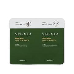 все цены на Патчи для носа Missha Super Aqua Pore-Kling Nose Dual Patch