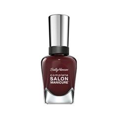 Лак для ногтей Sally Hansen Complete Salon Manicure™ 502 (Цвет 502 Rags To Riches variant_hex_name 3E111C) уход за кутикулой sally hansen complete salon manicure cuticle eraser balm объем 8 г