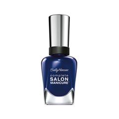 Лак для ногтей Sally Hansen Complete Salon Manicure™ 515 (Цвет 515 A Bleu Attitude variant_hex_name 20315F) лаки для ногтей sally hansen лак для ногтей sally hansen salon manicure тон 554
