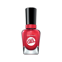 Гель-лак для ногтей Sally Hansen Miracle Gel 444 (Цвет 444 Off with her Red! variant_hex_name DC293E) гель лак для ногтей sally hansen miracle gel 680 цвет 680 rhapsody red variant hex name b4052c