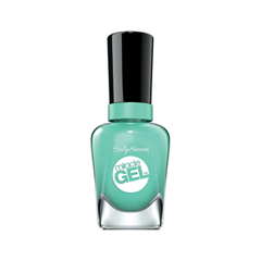 Гель-лак для ногтей Sally Hansen Miracle Gel 754 (Цвет 754 Prince Char-mint variant_hex_name 77C9B8) гель лак для ногтей sally hansen miracle gel 754 цвет 754 prince char mint variant hex name 77c9b8