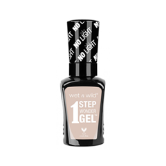 Гель-лак для ногтей Wet n Wild 1 Step WonderGel™ Nail Color 719A (Цвет 719A Condensed Milk variant_hex_name E4C6BC) гель gigi a h a step 4