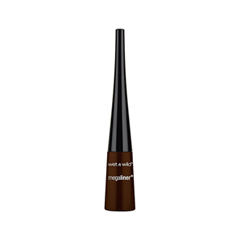 Подводка Wet n Wild MegaLiner Liquid Eyeliner 872A (Цвет 872A Dark Brown variant_hex_name 4A3729) free shipping 3 pp eyeliner liquid empty pipe pointed thin liquid eyeliner colour makeup tools lfrosted purple