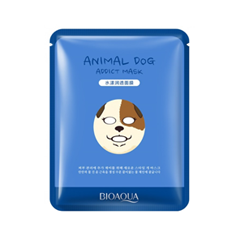 Тканевая маска BioAqua Animal Face Addict Dog (Объем 30 г) тканевая маска bioaqua animal tiger supple mask объем 30 г