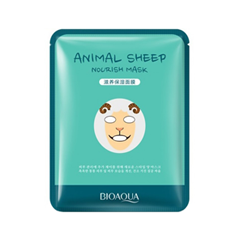 Тканевая маска BioAqua Animal Face Nourish Sheep (Объем 30 г) тканевая маска bioaqua animal tiger supple mask объем 30 г