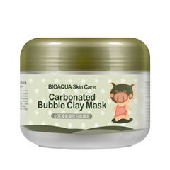 Маска BioAqua Carbonated Bubble Clay Mask (Объем 100 мл) hot deep pore cleansing clay mask carbonated bubble anti acne moisturizing face mask 100g