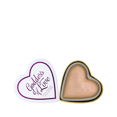 Хайлайтер Makeup Revolution Blushing Hearts Goddess of Love Highlighter Goddess of Faith (Цвет Goddess of Faith variant_hex_name D5AC92) makeup revolution i heart blushing heart unicornspalette хайлайтер
