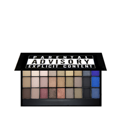 Для глаз Makeup Revolution I Heart Makeup Slogan Palette Explicit Content (Цвет Explicit Content variant_hex_name 4F6596) пудра