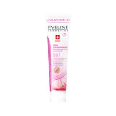 Крем для депиляции Eveline Cosmetics Крем для депиляции, укрепляющий стенки капилляров (Объем 125 мл) eveline крем интенсивное питание оливки протеины шёлка 210 мл