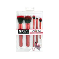 Набор кистей для макияжа Royal & Langnickel Moda™ Red Perfect Mineral Set fabrik cosmetology кисть для нанесения макияжа