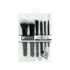 Набор кистей для макияжа Royal & Langnickel Moda™ Black