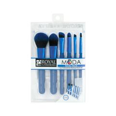 Набор кистей для макияжа Royal & Langnickel Moda™ Blue Total