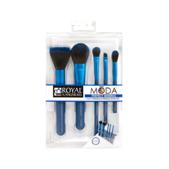 Набор кистей для макияжа Royal & Langnickel Moda™ Blue Perfect Mineral Set