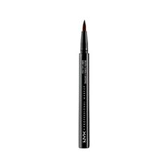 Подводка NYX Professional Makeup Felt Tip Liner 02 (Цвет 02 Dark Brown variant_hex_name 534C3B)