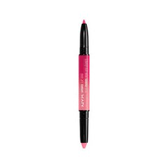 Карандаш для губ NYX Professional Makeup Ombre Lip Duo 03 (Цвет 03 Hearts  Spades variant_hex_name DA010C)