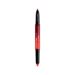 Карандаш для губ NYX Professional Makeup Ombre Lip Duo 12 (Цвет 12 Bonnie  Clyde variant_hex_name FF2F2F)