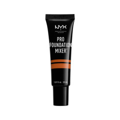 Тональная основа NYX Professional Makeup Пигмент Pro Foundation Mixer 06 (Цвет 06 Warmth variant_hex_name B7643E) nyx professional makeup стойкая тональная основа total control drop foundation deep sable