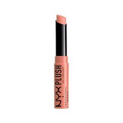 Помада NYX Professional Makeup Plush Gel Lipstick 12 (Цвет 12 Nude Beach variant_hex_name E69270) nyx professional makeup гель помада plush gel lipstick dime piece 08