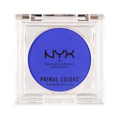Тени для век NYX Professional Makeup Прессованные пигменты Primal Colors Face Powder 03 (Цвет 03 Hot Blue variant_hex_name 0278E2)