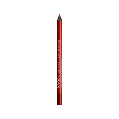 Карандаш для губ NYX Professional Makeup Slide On Lip Pencil 04 (Цвет 04 Brick House variant_hex_name 710B11) карандаш для глаз nyx professional makeup slide on pencil 02 цвет 02 black sparkle variant hex name 595b5a