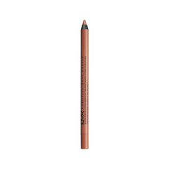 где купить Карандаш для губ NYX Professional Makeup Slide On Lip Pencil 08 (Цвет 08 Sugar Glass variant_hex_name 9A6D60) дешево