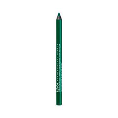 Карандаш для глаз NYX Professional Makeup Slide on Pencil 09 (Цвет 09 Tropical Green variant_hex_name 035839)