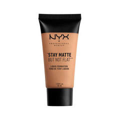 Тональная основа NYX Professional Makeup Stay Matte But Not Flat Liquid Foundation 10 (Цвет 10 Caramel variant_hex_name C28B6A)