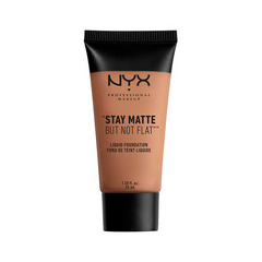Тональная основа NYX Professional Makeup Stay Matte But Not Flat Liquid Foundation 15 (Цвет 15 Chestnut variant_hex_name AB7358)
