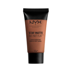 Тональная основа NYX Professional Makeup Stay Matte But Not Flat Liquid Foundation 19 (Цвет 19 Cocoa variant_hex_name 855B48)