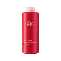Бальзам Wella Professionals Brilliance Conditioner For Fine To Normal Colored Hair (Объем 1000 мл) wella бальзам для окрашенных жестких волос wella brilliance conditioner for coarse colored hair 81266967 200 мл