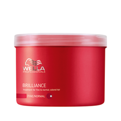 Маска Wella Professionals Brilliance Treatment For Fine To Normal Colored Hair (Объем 500 мл) недорого