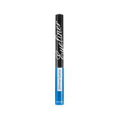 Подводка Absolute New York Shimmer Eyeliner 04 (Цвет NF004 Blue variant_hex_name 3DA8D1) long wear gel eyeliner подводка для век в баночке bronze shimmer