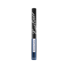 Подводка Absolute New York Shimmer Eyeliner 05 (Цвет NF005 Navy variant_hex_name 283466) long wear gel eyeliner подводка для век в баночке bronze shimmer