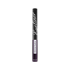 Подводка Absolute New York Shimmer Eyeliner 12 (Цвет NF012 Glitter Black variant_hex_name 423143) футболка zoo york z black purple
