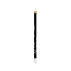 Карандаш для глаз NYX Professional Makeup Slim Eye Pencil 906 (Цвет 906 White variant_hex_name F6F6F4)