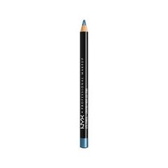 Карандаш для глаз NYX Professional Makeup Slim Eye Pencil 910 (Цвет 910 Satin Blue variant_hex_name 3874A6)