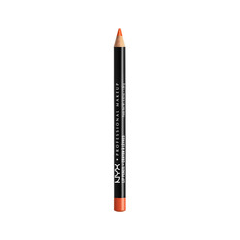 Карандаш для губ NYX Professional Makeup Slim Lip Pencil 824 (Цвет 824 Orange variant_hex_name DC3724)