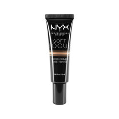 Праймер NYX Professional Makeup Soft Focus Tinted Primer 02 (Цвет 02 Medium Beige variant_hex_name D79E6C) mac lightful c tinted cream with radiance booster увлажняющий тональный крем spf30 medium dark