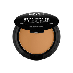 Пудра NYX Professional Makeup Stay Matte But Not Flat Powder Foundation 28 (Цвет 28 Deep Golden variant_hex_name C08A5B) пудра nyx professional makeup stay matte but not flat powder foundation 03 цвет 03 natural variant hex name fbcfa9